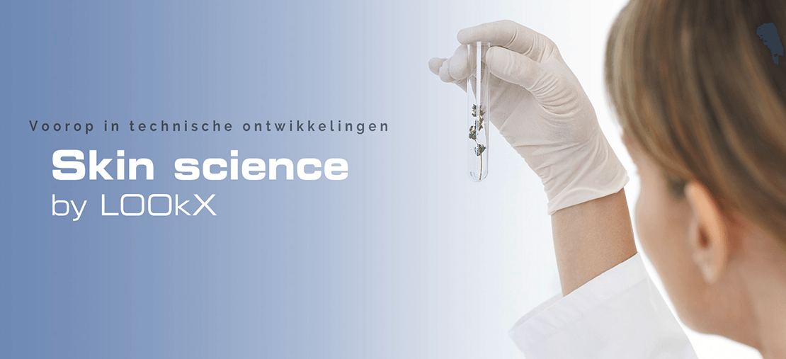 LOOkX Skin science header