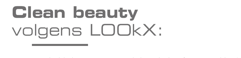 Kop Clean beauty volgens LOOkX