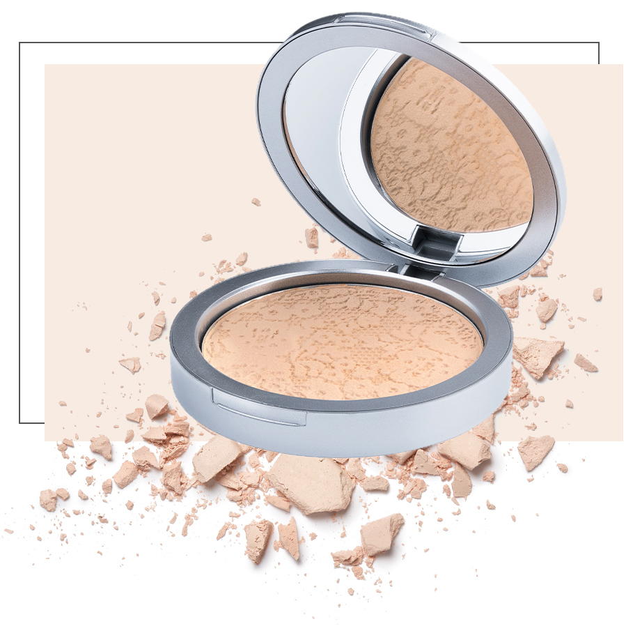 Natural velvet mineral foundation
