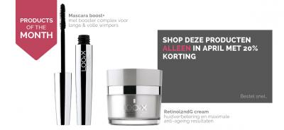 April: Shoppen met korting