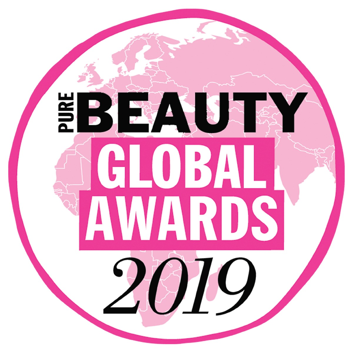 Logo Pure Global Beauty Awards 2019